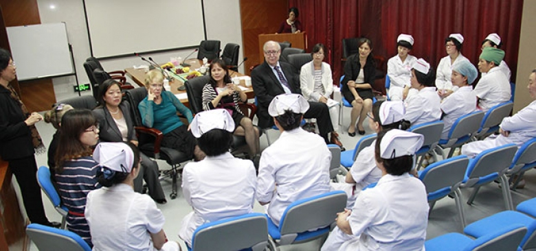 UCSF Faculty Trip Forges Relationships to Build Nursing Workforce in